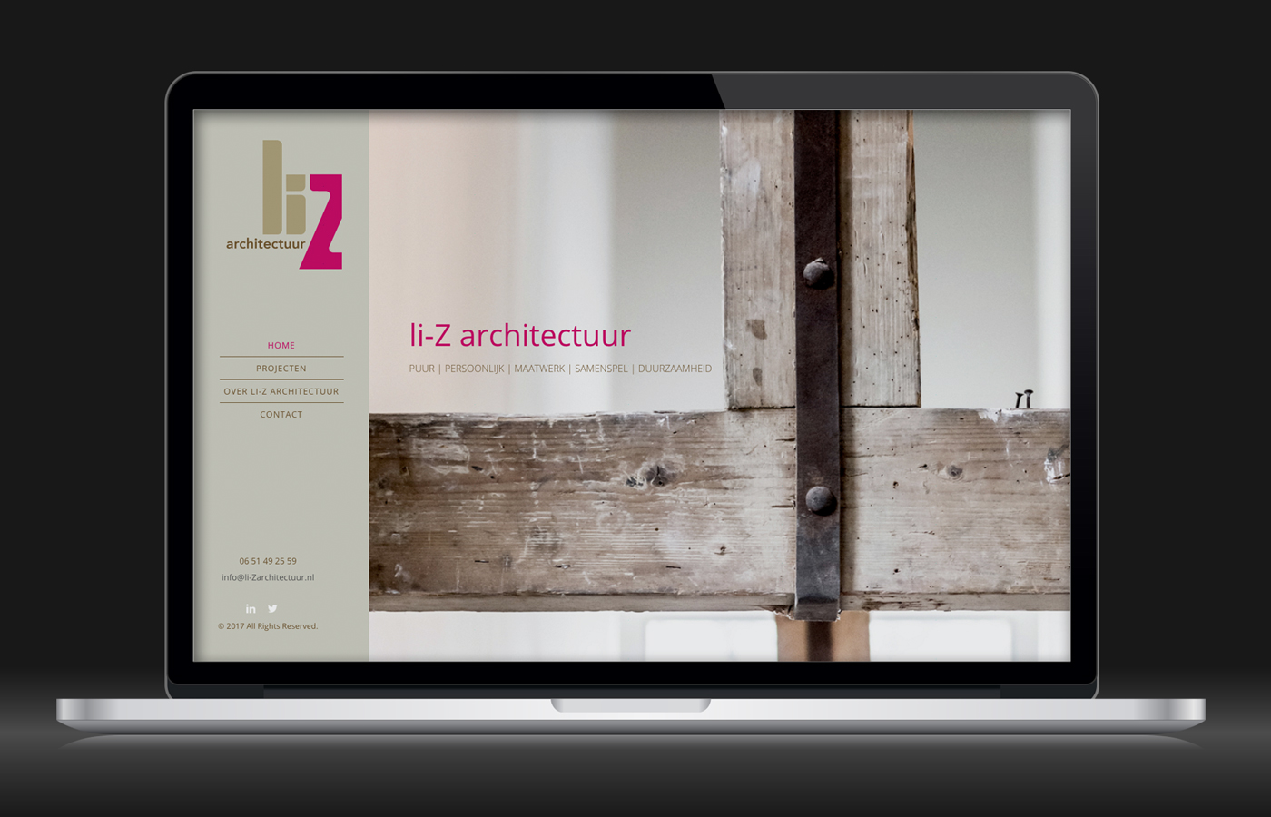 Website li-Z architectuur